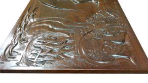 Hildo Krop houten reliëf