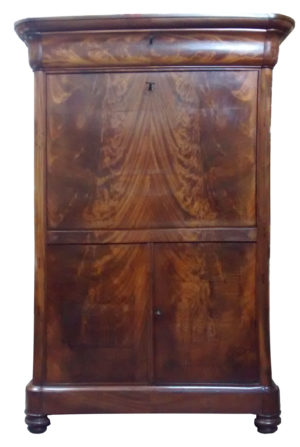 Empire secretaire restauratie